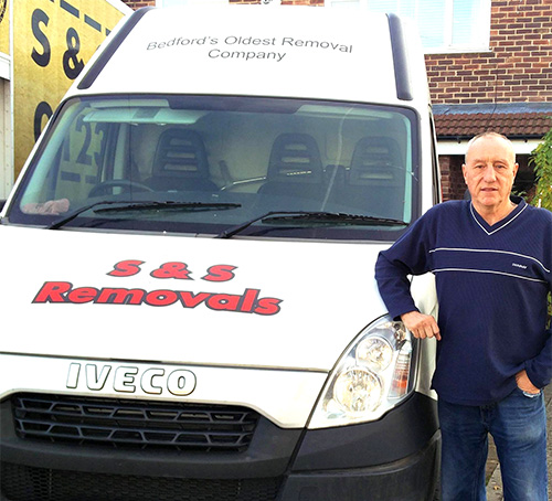 S and S Removals Bedford - Van and Man